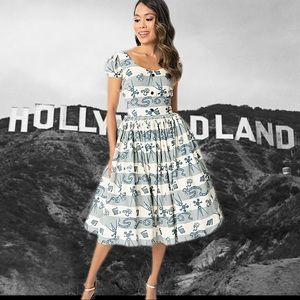 Bernie Dexter Florence in Hollywoodland 4X Dress